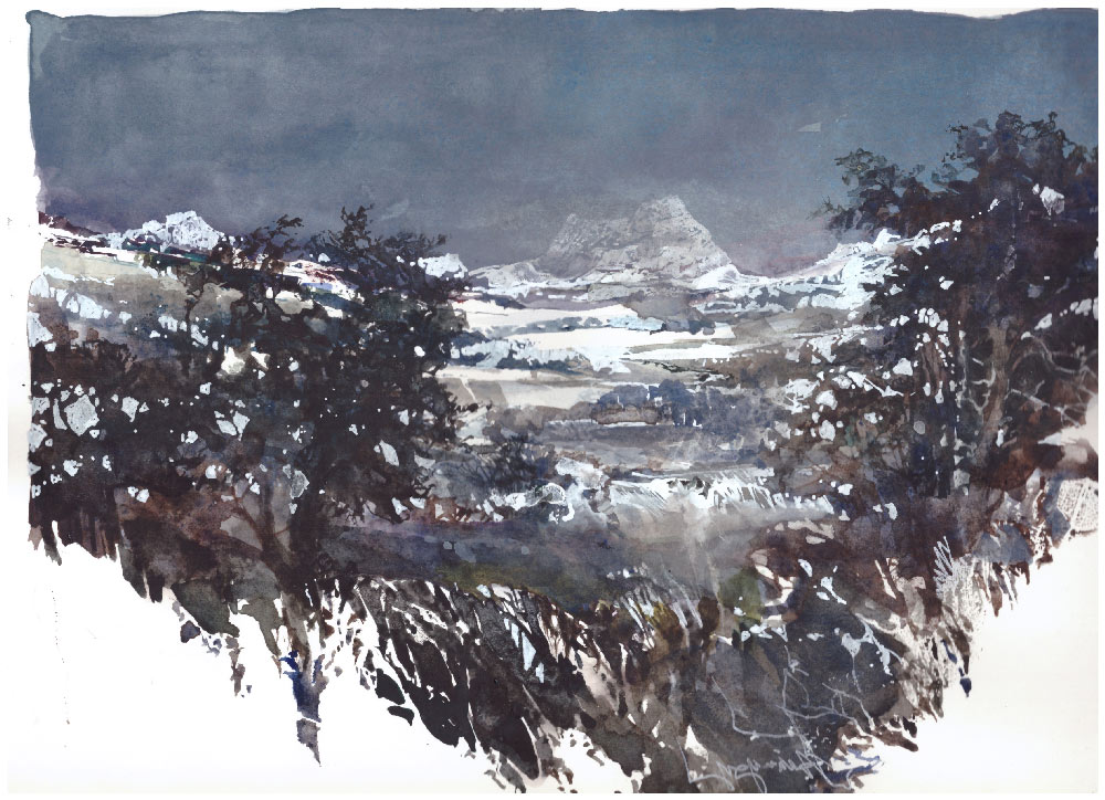 daniele gay winter watercolor 1